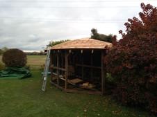 Oak cedar summerhouse