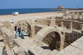 Caesarea Maritima ruins