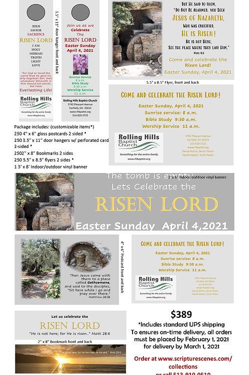 Easter Promotional Package Risen Savior