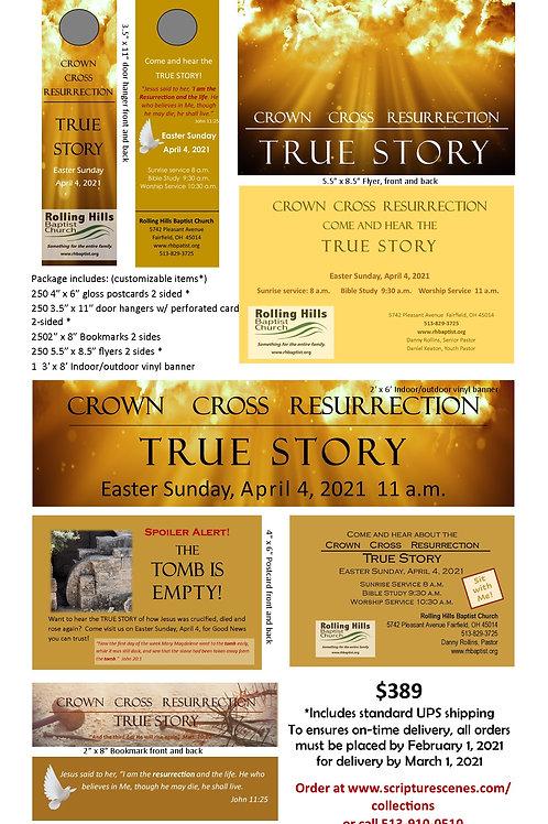 Easter Promotional Package Crownl/Cross V3