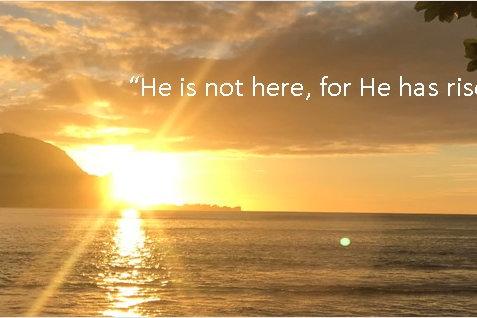 Easter Bookmark Risen Savior