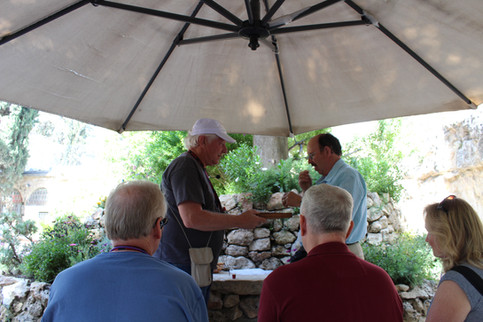 Communion at the Garden Tomb