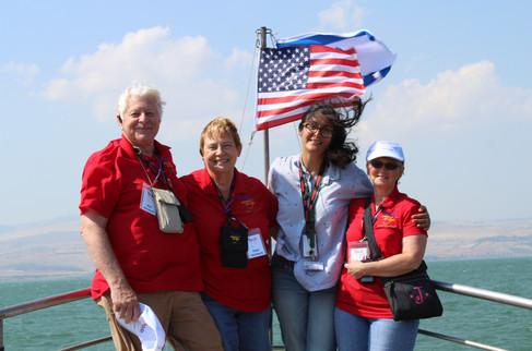 Saling on the Sea of Galilee