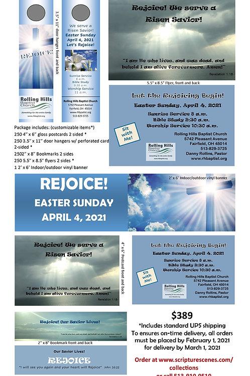 Easter Promotional Package Rejoice! V2