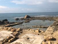 Caesarea Maritima palace pool