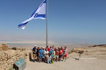 Top of Masada