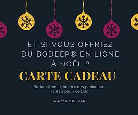 Cours de Bodeep® En ligne