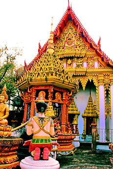 Ват Махейонг ,Maheyong  Buddhist Temple,Wat Mahaeyong, Накхон Си Тхаммарат.