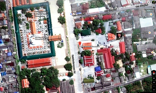 Wat Na Phra Boromathat Ват На Пхра Бороматхат, Накхон Си Тхаммарат