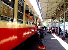 Поезд Янгон-Мандалай, Мьянма