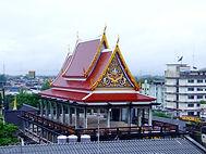 Вид из окна Тайотеля, Wat Sao Thong Thong Накхон Си Тхаммарат