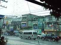 Дождь в Накхон Си Тхаммарате