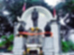 Nakhon Si Thammarat . Monument to King Rama V