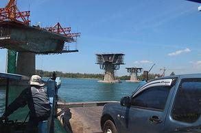 Мост от Koh Lanta Noi  до Koh Lanta Yai
