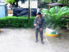 Блок-пост в Таиланде. huatiaiasia.