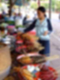 Рынок в Паксе, Южный Лаос