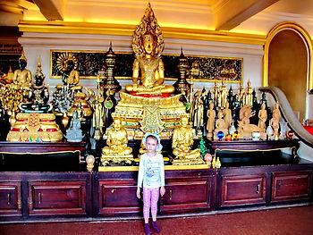 Опыт путешествия с ребенком 6 лет в Таиланд Бангкок, Ват Золотая гора