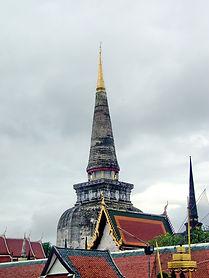 Wat Phra Mahathat Woramahawihan. Ват Пхра Махатхат. Накхон Си Тхаммарат