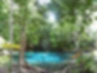 Кхао Но Чу Чи. Голубой бассейн