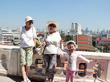 Опыт путешествия с ребенком 6 лет в Таиланд Бангкок, Ват Сакет
