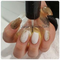 #nails #nailstagram #nailswag #nsi #acrylicnails #acrylics #glitter #glitternails #nailart #nailidea