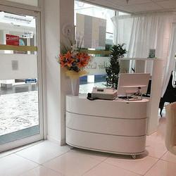 Sugar's reception area