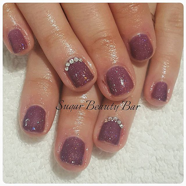 Shellac Nordic Lights and Swarovski's l