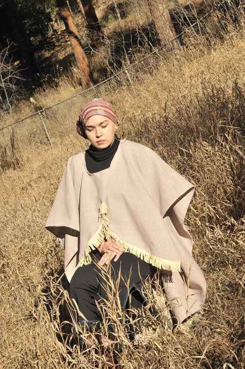 High Low Cape Poncho