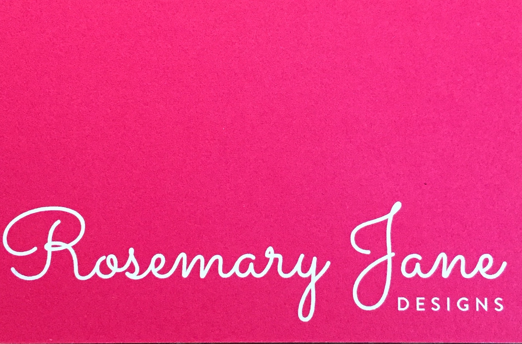 Rosemary James Design