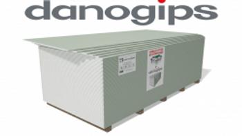 Гипсокартон KNAUF DANOGIPS-12.5мм влагостойкий
