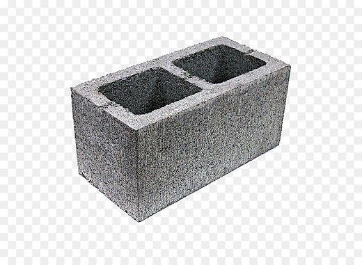Блок строительный 20см