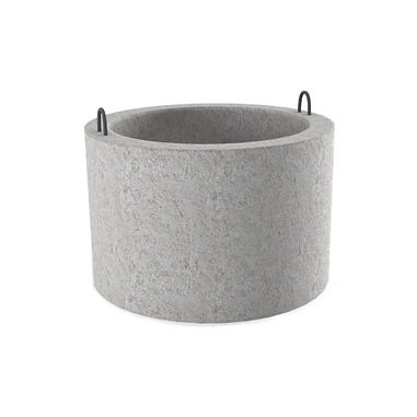 Колодец диаметр-1,5м, высота-0,7м