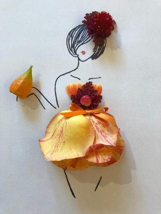 La Petite Fleuriste s'habille pour l'aut