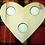 Thumbnail: Beech Heart Tea Light Holder