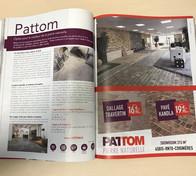 Article PATTOM dans le magazine Maison & Jardin