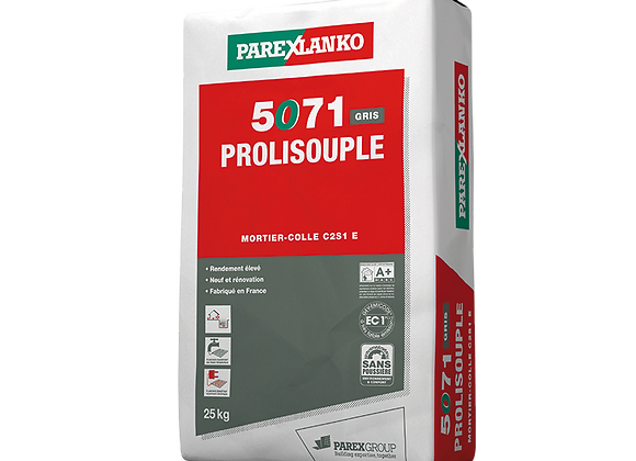 Colle grise ParexLanko PROLISOUPLE 5071