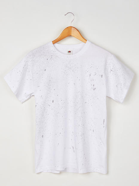 White Spotted Tee