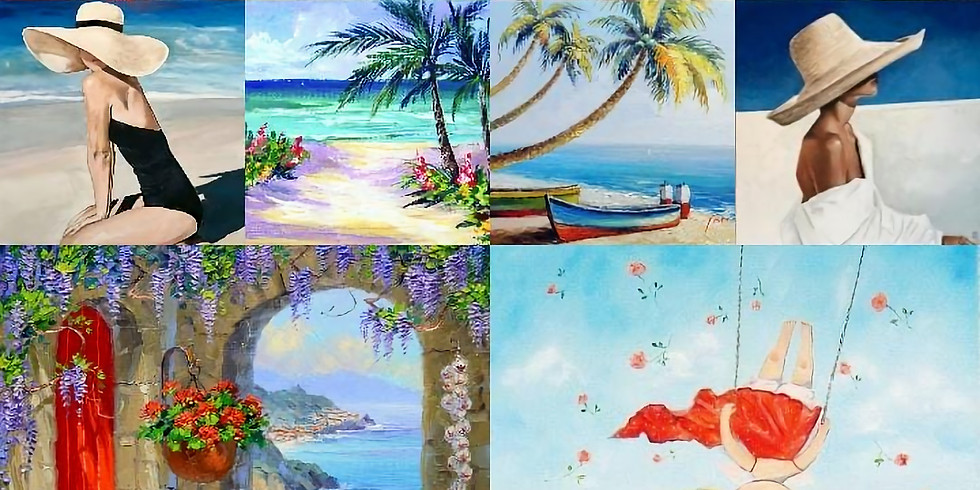 "Свободная тема: ""Лето Море Облака"" (м. Марксисткая)"