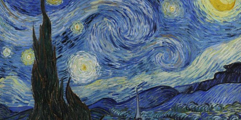 В стиле Ван Гога!