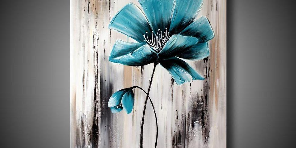 Цветут цветы (картина предоставляется на выбор, по желанию ее можно будет украсить золотой или серебряной поталью)