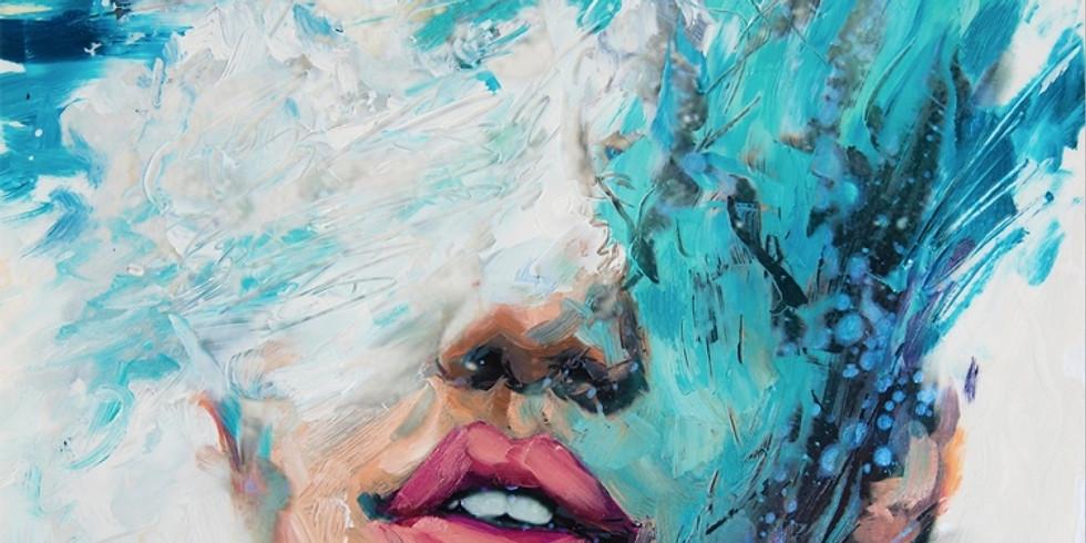 """Art&Learn (образовательная вечеринка): рисуем мастихином картину """"Морская"""" (м. Киевская)"""