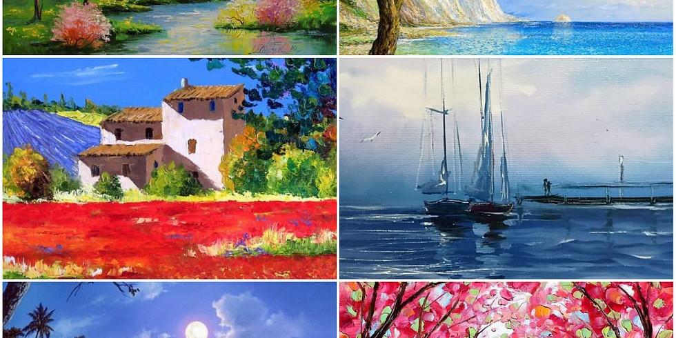Свободная тема: пейзажи (г.Жуковский)