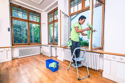 Fensterreinigung, Fassadenreinigung