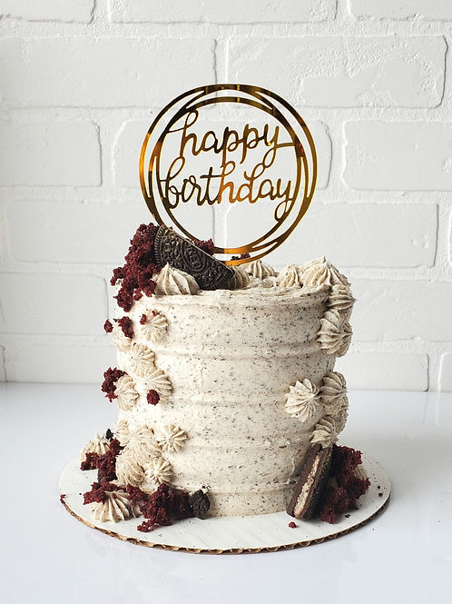 ADD on PERFECT CAKE +HBD SIGN+