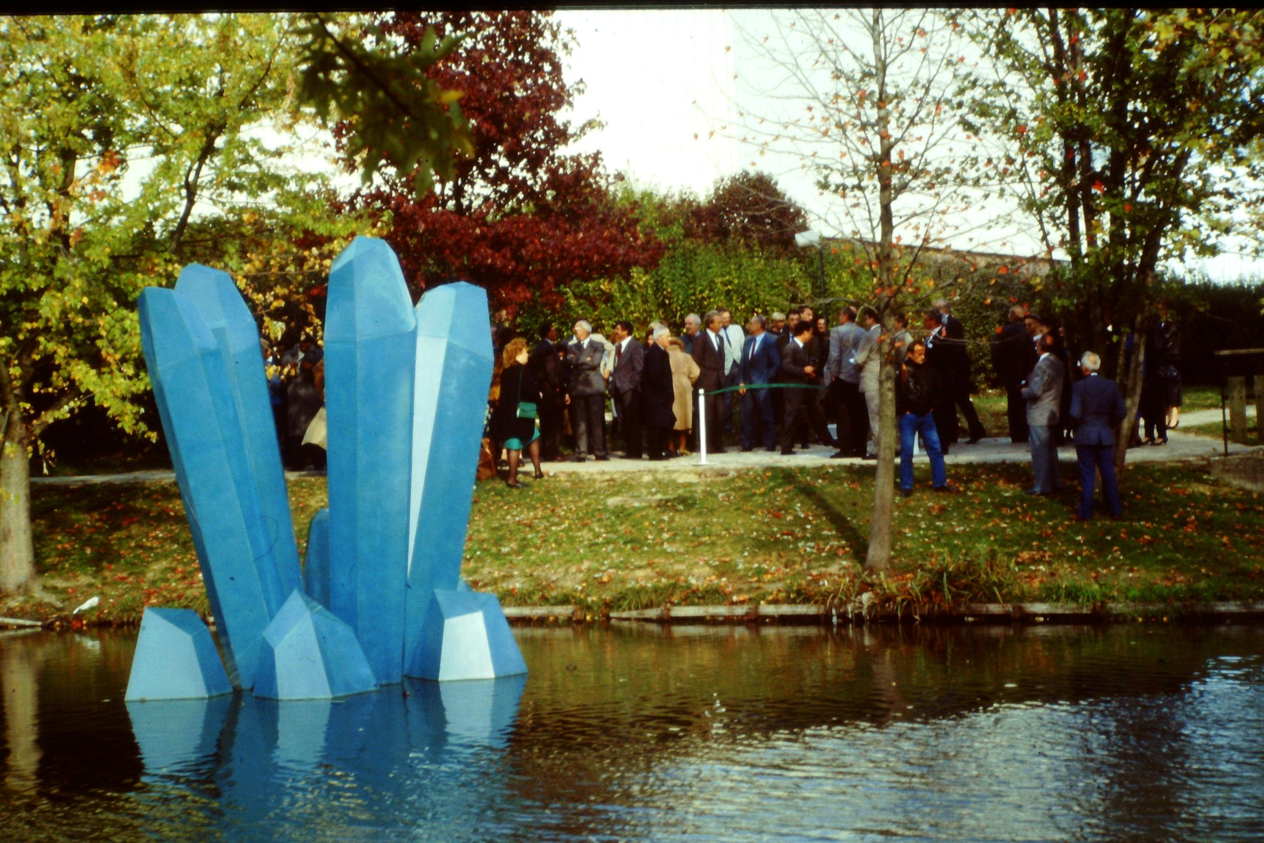 Cristaux géants - 1991