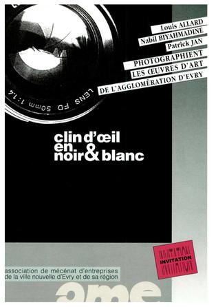 1992 Clin d'Oeil en Noir et Blanc