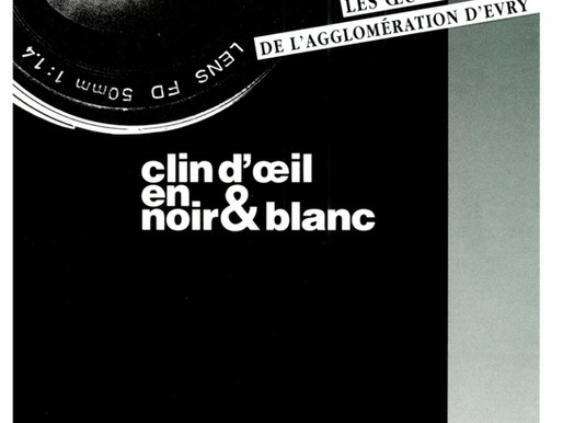 Clin d'oeil en noir et blanc - 1992
