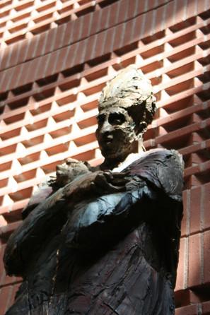 1996 statue de Saint Corbinien