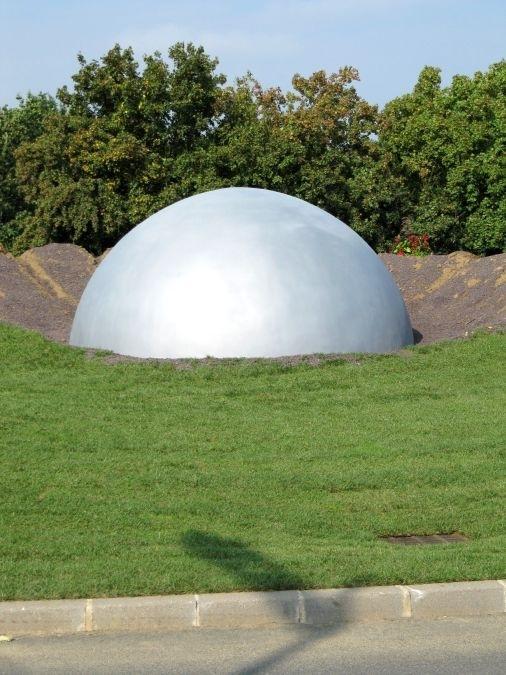 Rond-point de l'Espace - 2009
