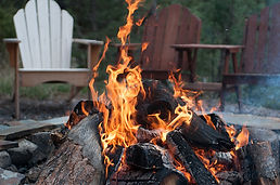 Catskills Firepits and indoor fireplaces available with our cabin rentals